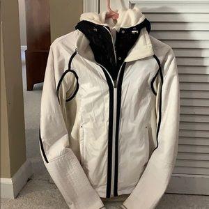 Lululemon unique Light winter jacket with lace